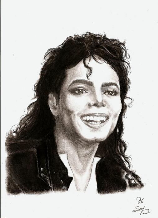 Michael Jackson por ElenaBlackbird